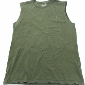 Champion Olive Green Tank Top Activewear